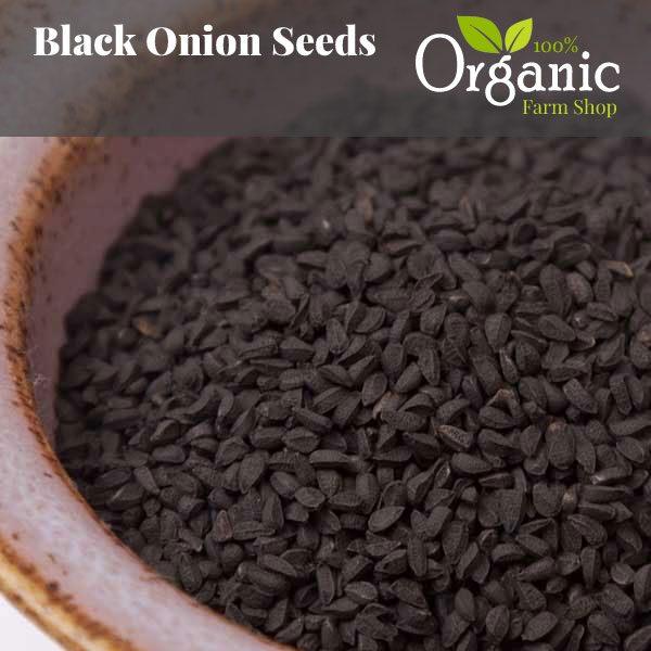 Black Onion Seed- Certified Organic