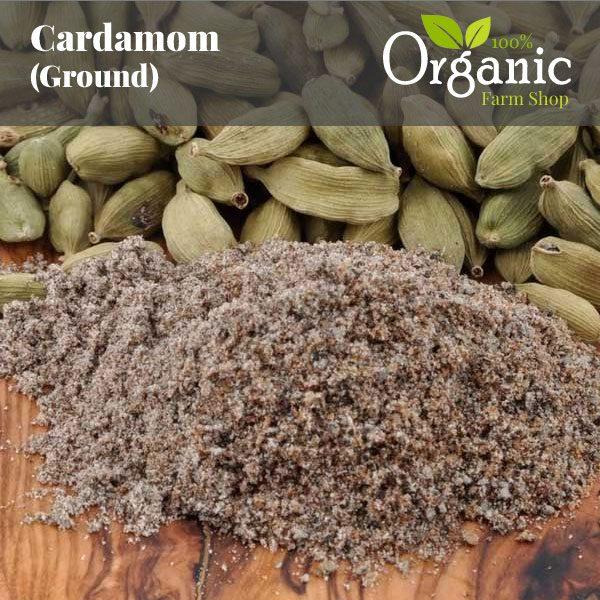 Cardamom (Ground) - Certified Organic