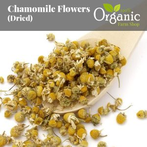 Chamomile Flowers (Dried) - Certified Organic