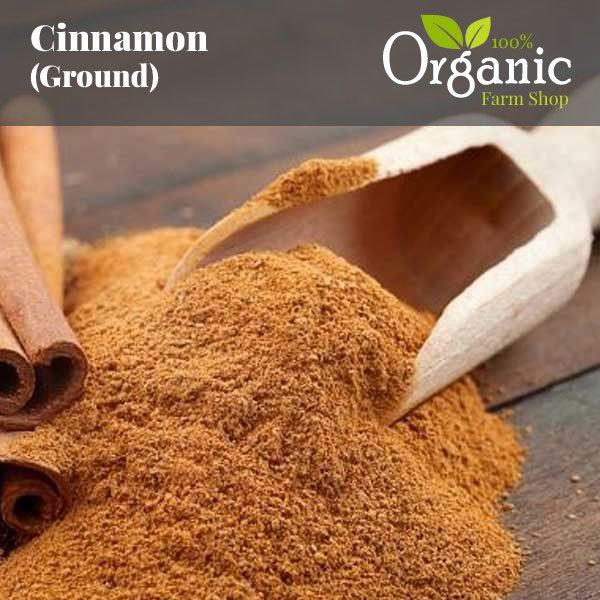 Cinnamon (Ground) - Certified Organic