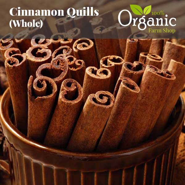 Cinnamon Quills (Whole) - Certified Organic