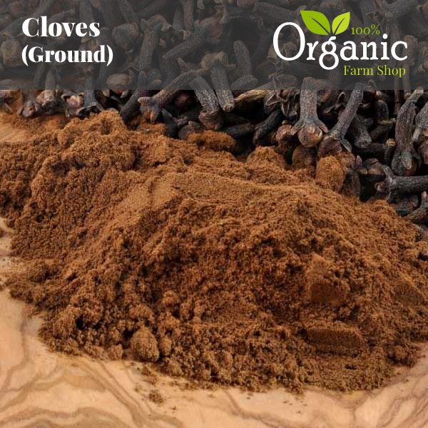 Cloves (Ground) - Certified Organic