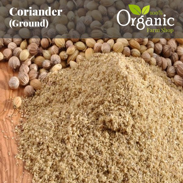 Coriander (Ground) - Certified Organic