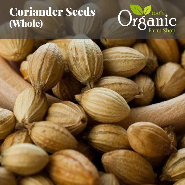 Coriander Seeds (Whole) - Certified Organic