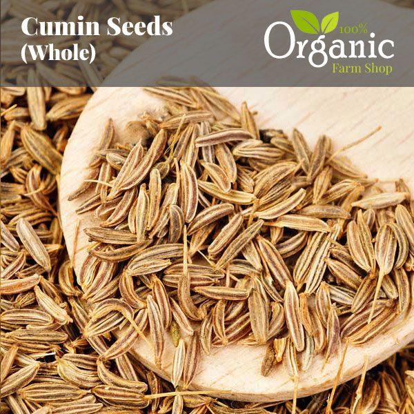 Cumin Seeds (Whole) - Certified Organic