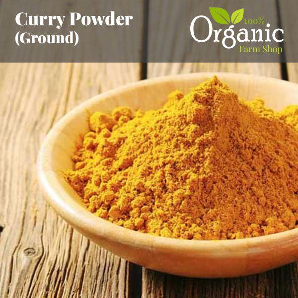 Curry Powder (Ground) - Certified Organic