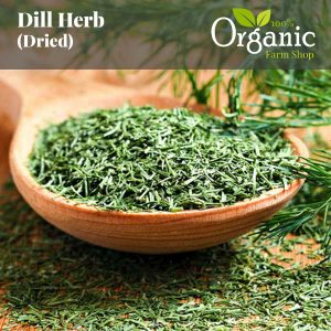 Dill Herb (Dried) - Certified Organic