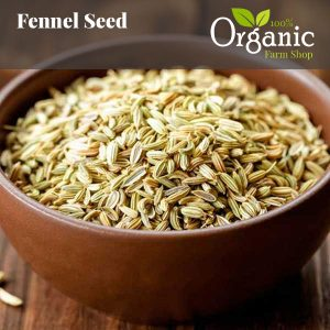 Fennel Seeds (Whole) - Certified Organic