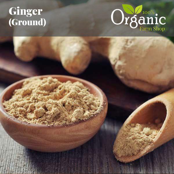 Ginger (Ground) - Certified Organic