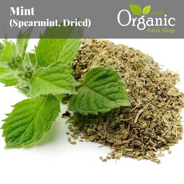 Mint (Spearmint, Dried) - Certified Organic