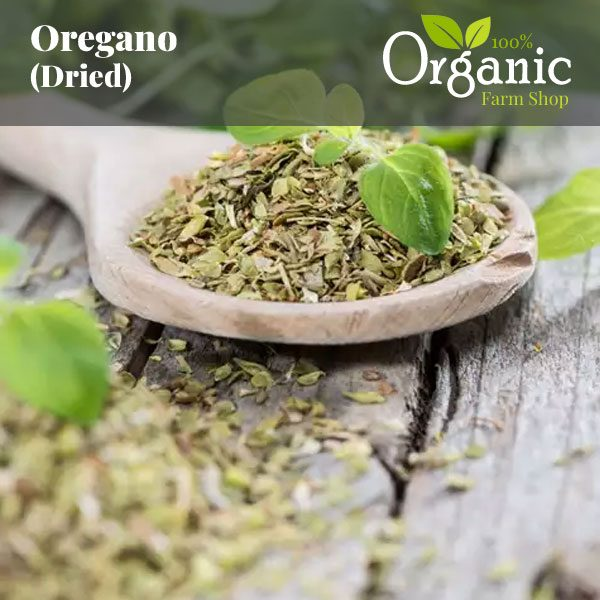 Oregano (Dried) Certified Organic