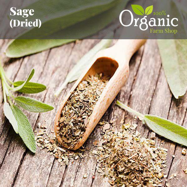 Sage (Dried) - Certified Organic