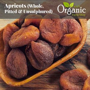 Apricots (Whole, Pitted & Unsulphured) - Certified Organic