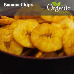 Banana Chips - Certified Organic