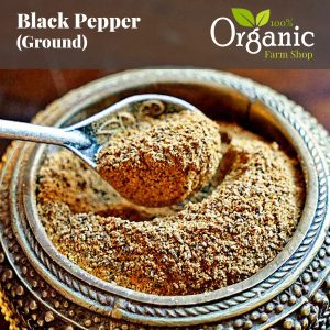 Black Pepper (Ground) - Certified Organic