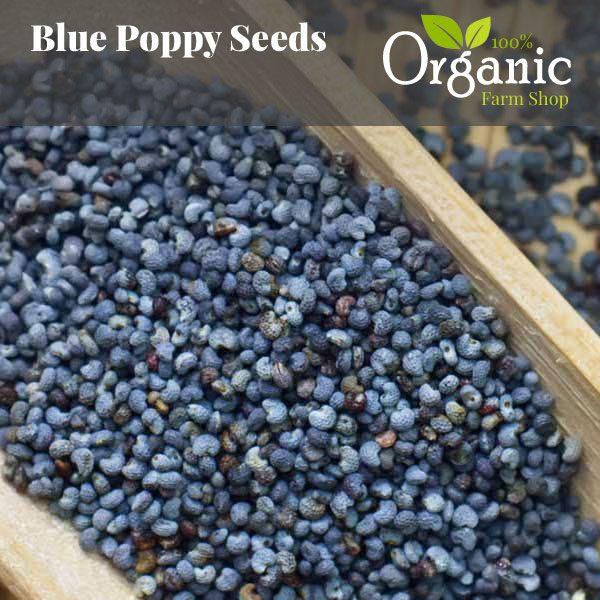 Blue Poppy Seeds- Certified Organic