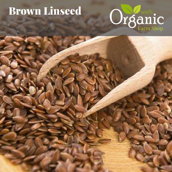 Brown Linseed- Certified Organic