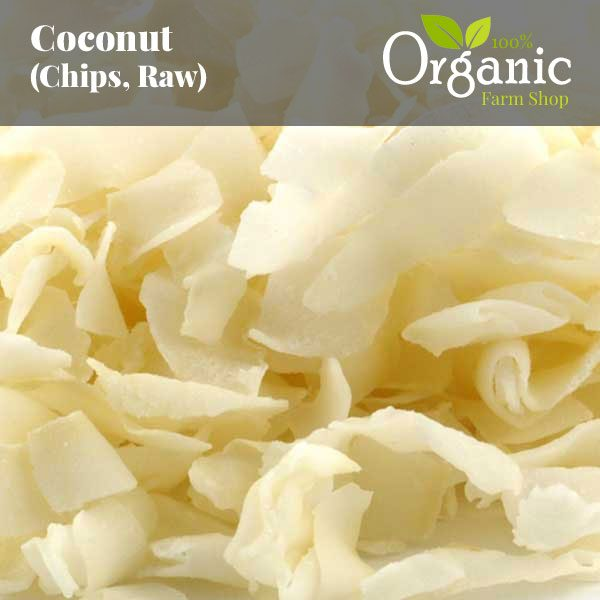 Coconut (Chips, Raw) - Certified Organic