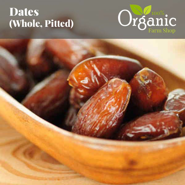 Dates (Whole, Pitted) - Certified Organic