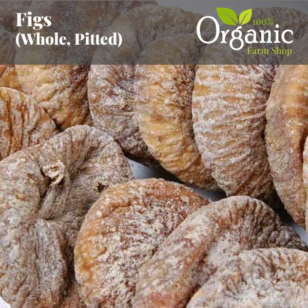 Figs (Whole, Pitted) - Certified Organic