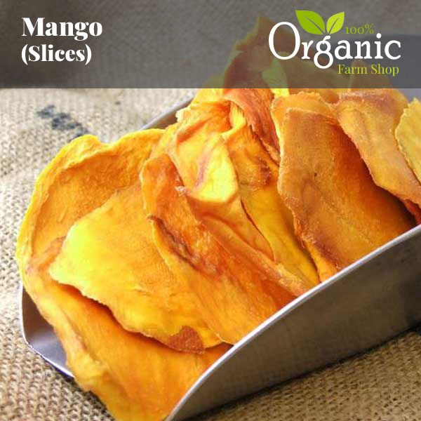Mango Slices - Certified Organic