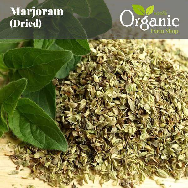 Marjoram (Dried) - Certified Organic