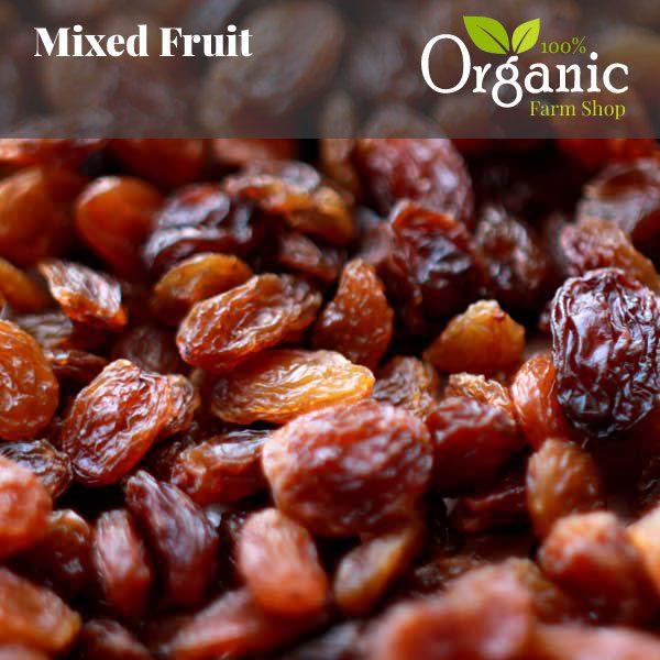 Mixed Dried Fruit - Certified Organic