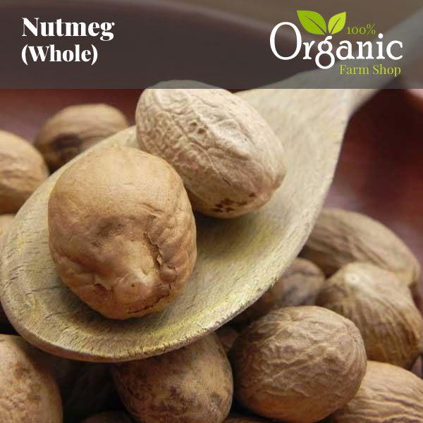 Nutmeg (Whole) - Certified Organic