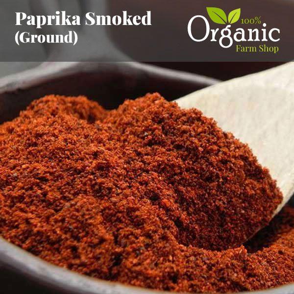 Smoked Paprika (Ground) - Certified Organic
