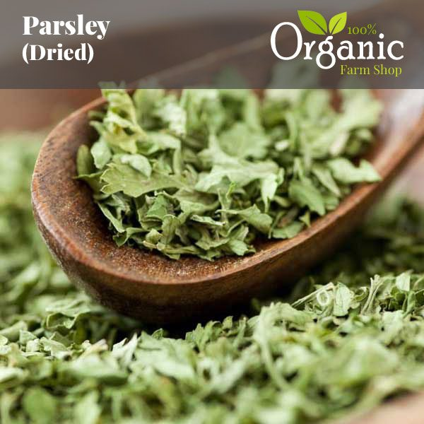 Parsley (Dried) - Certified Organic