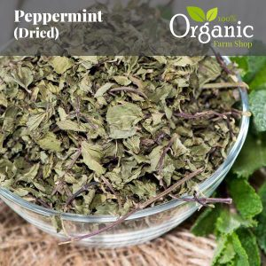 Peppermint (Dried) - Certified Organic