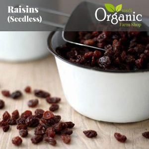 Raisins (Seedless) - Certified Organic