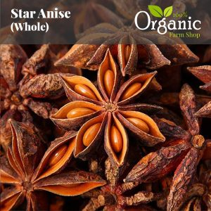 Star Anise (Whole) - Certified Organic