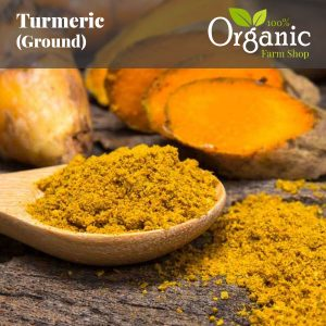 Turmeric (Ground) - Certified Organic