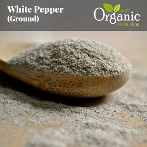 White Pepper (Ground) - Certified Organic