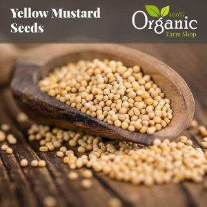 Yellow Mustard Seeds  - Certified Organic