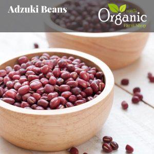 Adzuki Beans - Certified Organic