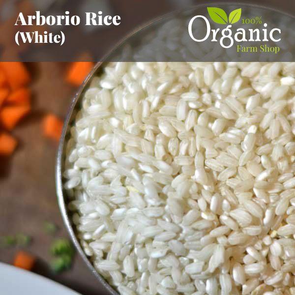 Arborio Rice (White) - Certified Organic