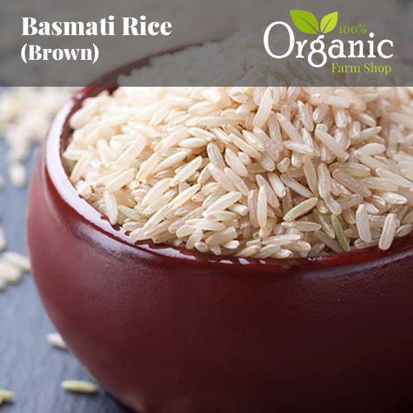 Basmati Rice (Brown) - Certified Organic