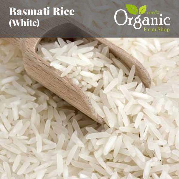 Basmati Rice (White) - Certified Organic