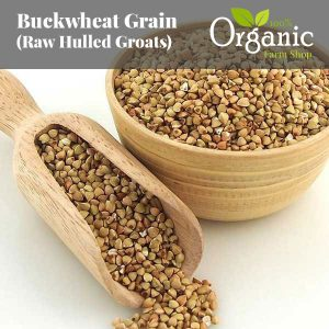 Buckwheat Raw Grain (Hulled Groats) - Certified Organic