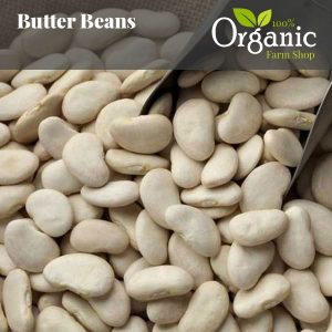 Butter Beans - Certified Organic