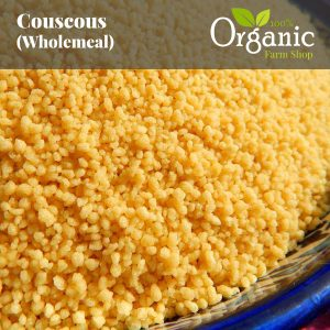 Couscous Wholemeal - Certified Organic