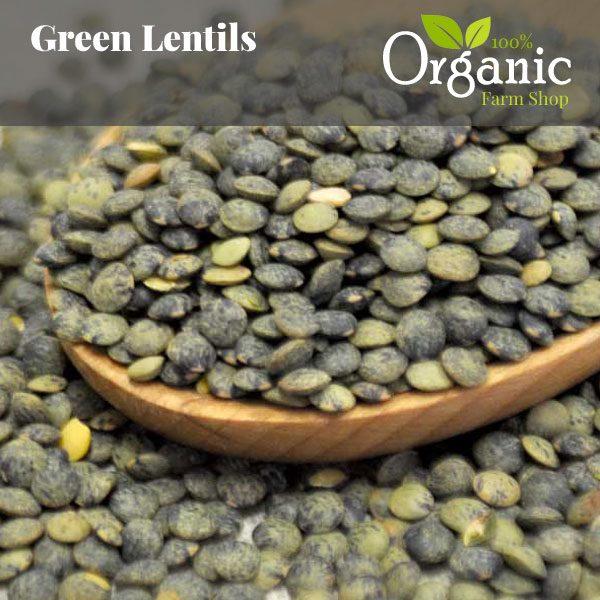 Green Lentils - Certified Organic