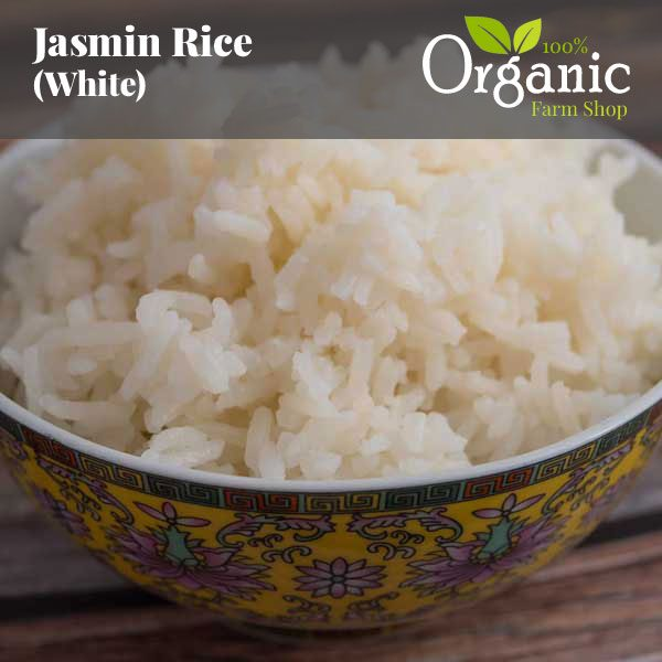 Jasmine Rice (White) - Certified Organic