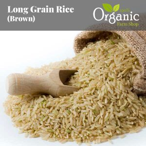 Long Grain Rice (Brown) - Certified Organic