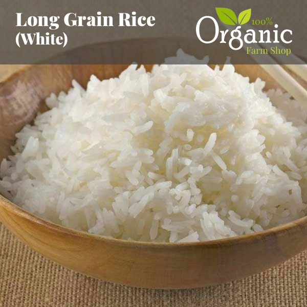 Long Grain Rice (White) - Certified Organic
