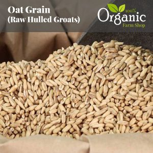 Oat Grain (Hulled Raw Groats) – Certified Organic