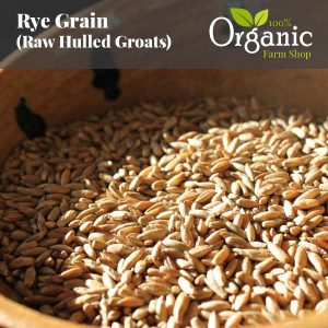 Rye Grain (Raw Groat) - Certified Organic