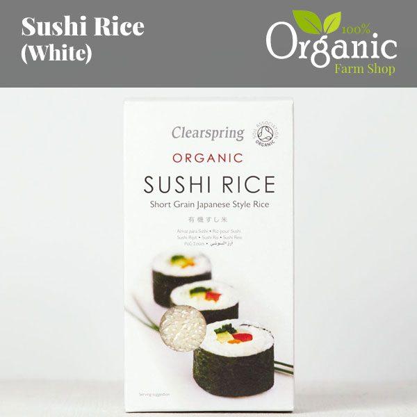 Sushi Rice (White) - Certified Organic